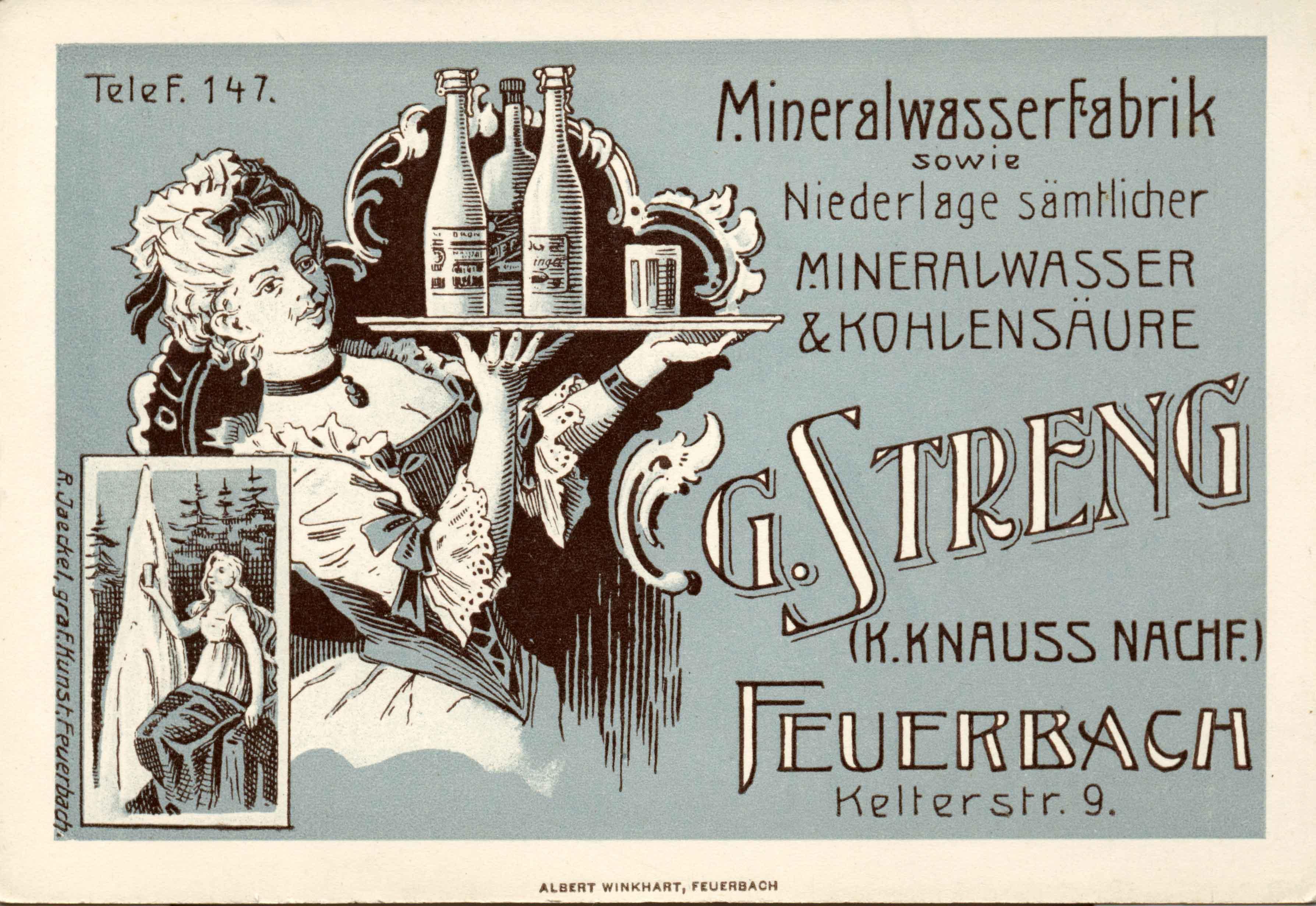 Geschichte von Getränke Streng in Stuttgart